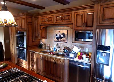 Custom kitchen with country charm