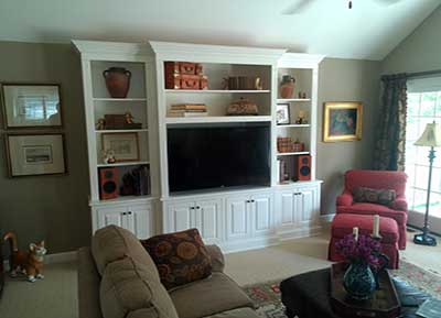 Classic Design Custom Entertainment Center
