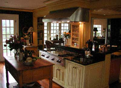 Old World Pinehurst kitchen